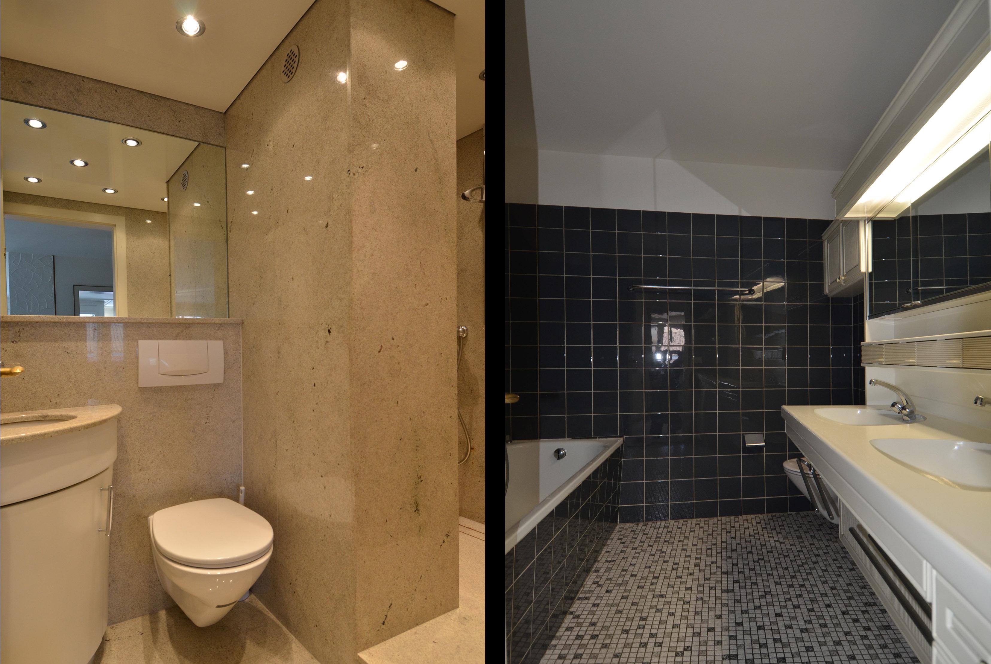 4½-zi'-eigentumswohnung mit grosser dachterrasse – proimmobilia, Badezimmer ideen