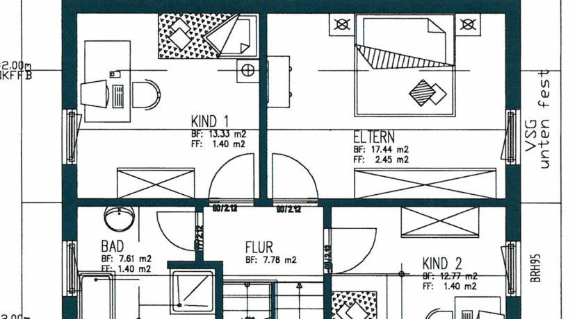 15 Grundriss Obergeschoss