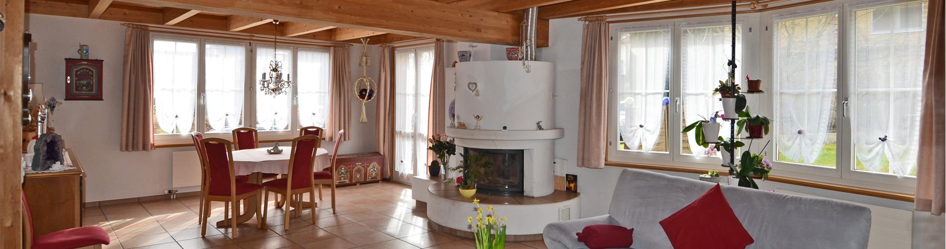 Freistehendes 5 Zi'-Einfamilienhaus im Landhausstil