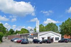 Gewerbeliegenschaft mit Parkplätzen Mühlematt Oberwil/BL