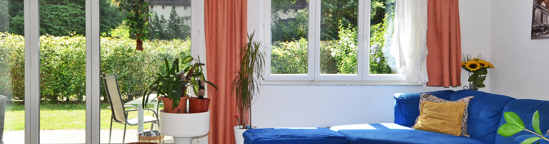 5.5-Zi'-Reihen-Eckhaus in familienfreundlicher Umgebung an ruhiger Lage, Nähe Birs